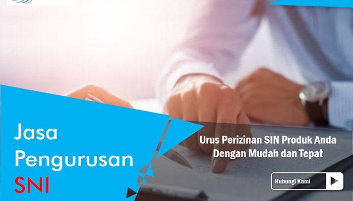 jasa pengurusan sertifikat SNI